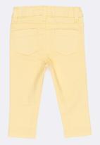 MINOTI - Basic Twill Jeans Yellow