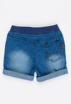 MINOTI - Cactus Denim Shorts Blue