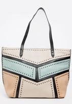 BLACKCHERRY - Shopper Bag Beige