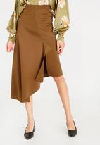 STYLE REPUBLIC - Asymmetrical Skirt Camel