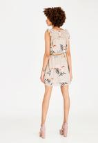ONLY - Libby Frill Dress Stone