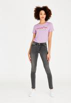 ONLY - Keen Box Tee Pale Purple