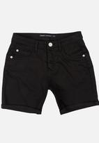 Brave Soul - Skinny Fit Short Black