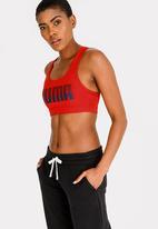 PUMA - 4 Keeps Sports Bra Red