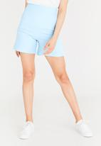 STYLE REPUBLIC - Structured Shorts Blue