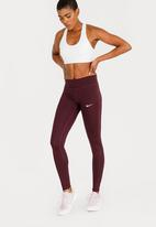 Nike - Nike Essential Running Leggings Mid Purple
