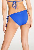Sun Love - Side Tie Bikini Bottoms Cobalt