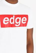 STYLE REPUBLIC - Edge Tee White