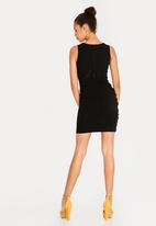 Sissy Boy - Deep V Club Dress Black