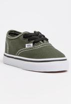 a1b27d0d4ffbea TD Authentic Lace Up Sneaker Khaki Green Vans Shoes