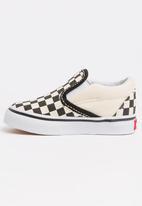 Vans - Vans Classic slip on - black/white choker board