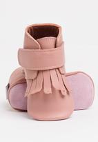 shooshoos - Miss Duval Bootie Pale Pink