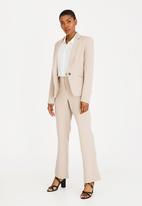 edit - Regular fit blazer - beige