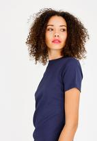 STYLE REPUBLIC - Ruched Detail Dress Navy