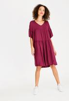 STYLE REPUBLIC - Oversized dress - purple