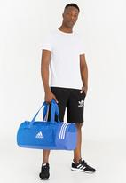 79b282bfd890 adidas Performance - adidas Convertible 3-Stripes Duffel Bag Medium Blue