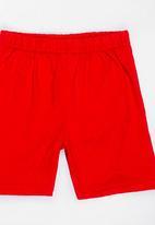 Twin Clothing - Marine Printed Sleepwear Set Red