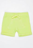 MINOTI - Holiday Washed Out Shorts Yellow