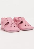 shooshoos - Pink Rain Mary Jane Mid Pink