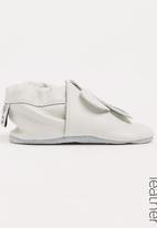 shooshoos - Milk Thistile Slip On White