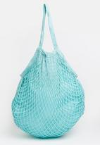 Joy Collectables - Netted Craft Bag Pale Blue