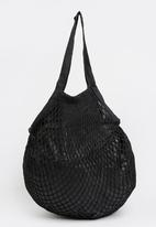Joy Collectables - Netted Craft Bag Black