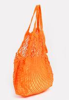Joy Collectables - Netted Craft Bag Orange
