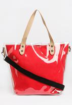 Joy Collectables - Transparent Shopper Bag Mid Pink