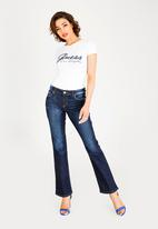 GUESS - Guess Bootleg Jeans Blue