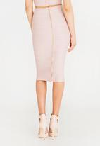 Sissy Boy - Boity Midi Skirt Mid Pink