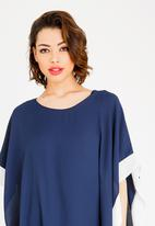 edit - Batwing Blouse Navy
