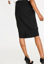 edit - Pencil skirt - black