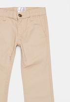 POP CANDY - Straight Leg Jeans Camel