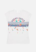 POP CANDY - Printed Tee Off White