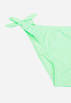 POP CANDY - Fringed Banded Bikini Mint
