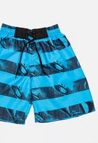 POP CANDY - Printed Boardshorts Blue