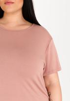 STYLE REPUBLIC PLUS - Basic T-Shirt Rose