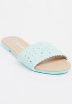 POP CANDY - Slip On Sandal Mint