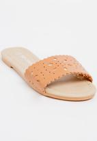 POP CANDY - Slip On Sandal Tan