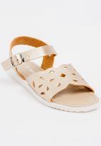 POP CANDY - Buckle Detail Sandal Gold
