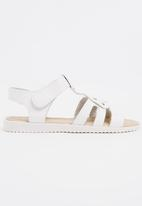 POP CANDY - Studded   Detail Sandal White