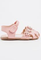 POP CANDY - Flower Detailed Sandal Mid Pink