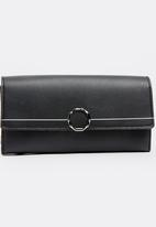 Dazzle - Trifold Purse Black