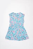 Rip Curl - Mini summer land dress - blue & pink