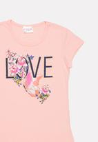 POP CANDY - Printed tee - pink