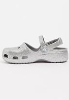 Crocs - Crocs Karin Sparkle Clog Silver