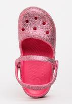 Crocs - Crocs Karin Sparkle Clog Mid Pink