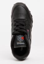 Reebok Classic - Kids reebok classic leather - black