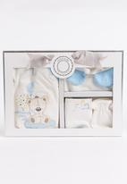 Baby Corner - Boys  4 Pack Bear  Set White