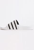 adidas Originals - Adilette - white/core black/white
